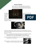 Analysis of Lighting Media As