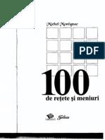 100 de reţete şi meniuri - Michel Montignac