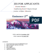 Guidelines EMINENCE 2nd Call