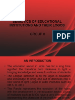 Semiotics- Analysis of B-School Logos