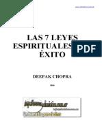 CHOPRA - Las 7 Leyes Espirituales Del Exito