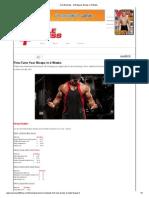 Arm Workouts - Get Bigger Biceps in 4 Weeks2