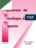 Cuadernos Psicologia Del Deporte_v11!2!2011