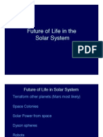 Future of Life in the Solar System Lecture