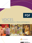 Voices of Women Entrepreneurs in Bosnia and Herzegovina