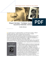 Entrevista con el escritor Miguel Herráez