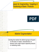 Segmenting Targeting & Positioning