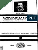 Prova di Mach- conoscenza ed errore prime 32 pagine editate con abby finereader11