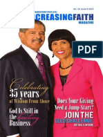 Ever Increasing Faith Magazine - Issue 3 - 2013