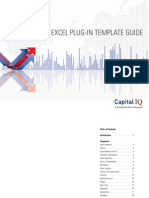 Capital IQ Excel Plug-In Guide