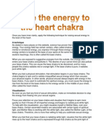 Raise the Energy to the Heart Chakra