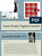 anne frank digital journal