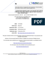 Camp LeJeune NC Exposure Evals & Childhood Diseases (#1476-069X-12-104)