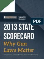 2013 Scorecard