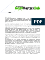 The BogeyMaster Open 2014 forms