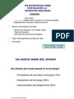 Estrategia innovación INIA licenciamientos