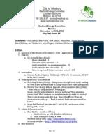 MEC Minutes 11-4-13