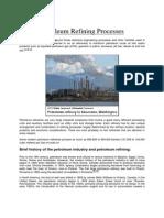 117009638 Petroleum Refining Processes