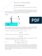 TD Hydrostatique