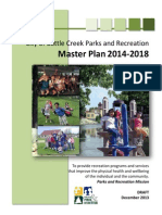 Draft of Battle Creek Parks and Recreation Department 2014-2018 Master Plan