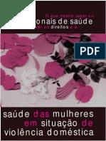 164861461 Cartilha O Que Devem Saber Os Profissionais de Saude Para Promover Os Direitos de Mulheres Em Situacao de Violencia Domestica