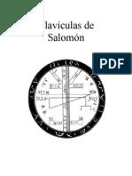 Clavículas de Salómon