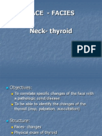 Semiology Lecture 4. Facies, Neck, Thyroid