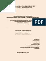 Las Tics y La Literatura Hispanoamercana