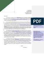 Complaint Letter Revised