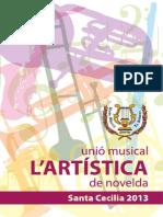 Revista La Artistica 2013