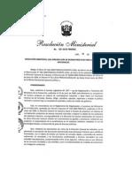 EVALUACIÓN DE ESTUDIO DE IMPACTO AMBIENTAL