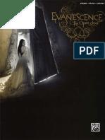 Evanescence - The Open Door Songbook (Piano/Vocals/Chords)