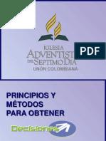 Principios y Metodos Para Obtener Decisiones