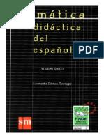 Gramatica Didactica Del Espanol Leonardo Gomez Torrego