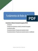 Prof Clotet Enrutamiento en Redes de Conmutacion de Paquetes ESPE