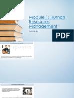 1-Human Resources Management