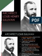 Louis Sullivan works