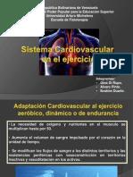 Cambios Cardiovasculares en El Ejercicio
