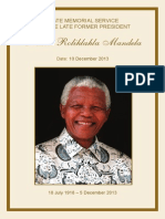Mandela Service Program
