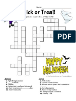 Halloween Crossword2