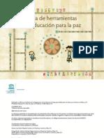 Caja de herramientas en educación para la paz