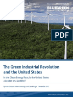 The Green Industrial Revolution and the United States