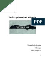 Proiect Film - Shutter Island(Cobzaru Stefan Bogdan)