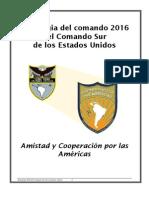 comando sur 2016