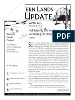 WLP Winter 2013 Newsletter