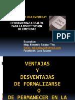 Lalo Salazar Constitucion de Empresas