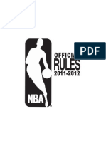 2011/12 NBA Rule Book