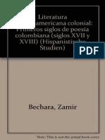 Zamir Bechara-Literatura Hispanoamericana Nacional