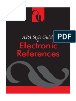 APASTYLE Electronic References_2