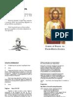 Bisita Iglesia Guide (Tagalog)